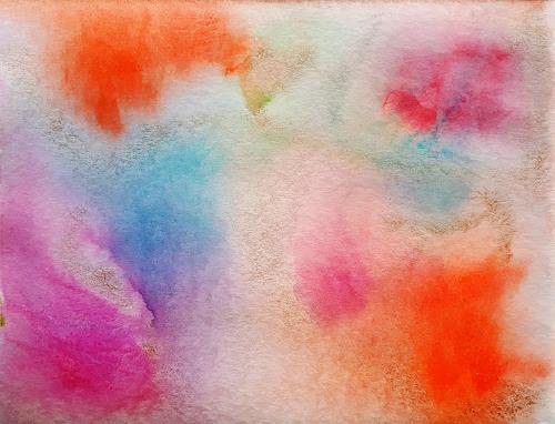 Ulrike Kröll, Farbimpressionen, Abstraktes, Fantasie, Moderne