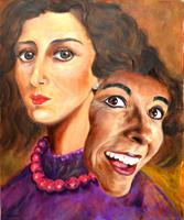 Ulrike-Kroell-Menschen-Frau-Menschen-Portraet-Gegenwartskunst-Gegenwartskunst