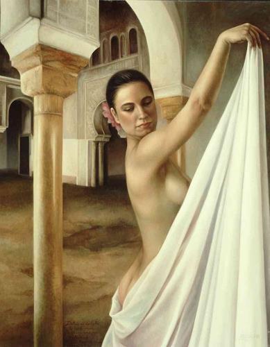 Maria Jose Aguilar, Secrets (Secretos), Diverse Weltraum, Realismus, Expressionismus