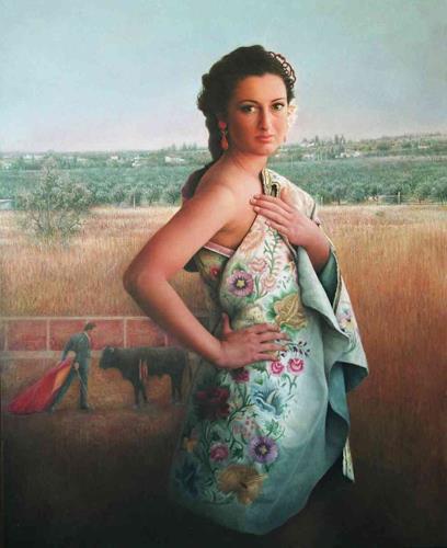 Maria Jose Aguilar, On Your Cape (De tu capote), Diverse Weltraum, Realismus