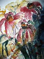 Brigitte-Heck-Natur-Erde-Pflanzen-Blumen-Gegenwartskunst--Gegenwartskunst-