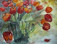 Brigitte-Heck-Pflanzen-Blumen-Gegenwartskunst-Gegenwartskunst