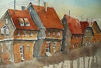 Brigitte-Heck-Architektur-Bauten-Haus-Gegenwartskunst--Gegenwartskunst-