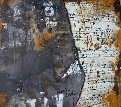 Brigitte Heck, Nr. 12 - Versuch über die wahre  Art das Clavier zu spielen, Musik: Instrument, Gegenwartskunst, Abstrakter Expressionismus