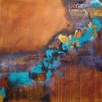 Brigitte-Heck-Geschichte-Abstraktes-Moderne-Abstrakte-Kunst-Informel