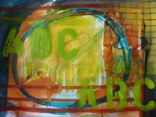 Brigitte Heck, A B C, Gesellschaft, Symbol, Gegenwartskunst