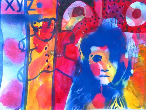 Brigitte Heck, Ene mene mu und drauß bist du, Zeiten: Früher, Spiel, Gegenwartskunst