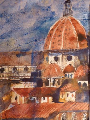 Brigitte Heck, Florenz, Architektur, Gegenwartskunst