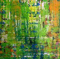 Brigitte-Heck-Pflanzen-Baeume-Abstraktes-Gegenwartskunst-Gegenwartskunst