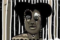 Brigitte-Heck-Menschen-Portraet-Fantasie-Gegenwartskunst-Gegenwartskunst