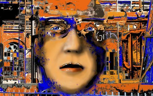 Brigitte Heck, Jeder ist ein Experiment, Menschen: Porträt, Fantasie, Gegenwartskunst