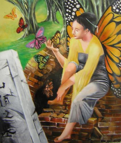 Zhenlian, The butterfly lovers, Märchen, Expressionismus