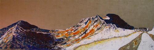 Gemma Aeschlimann, dorftäli 1, Landschaft: Berge, Landschaft: Winter