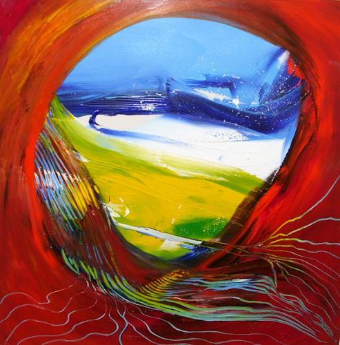 Joy Silke Brandenstein, Reich der Fantasie, Fantasie, Abstrakte Kunst, Abstrakter Expressionismus