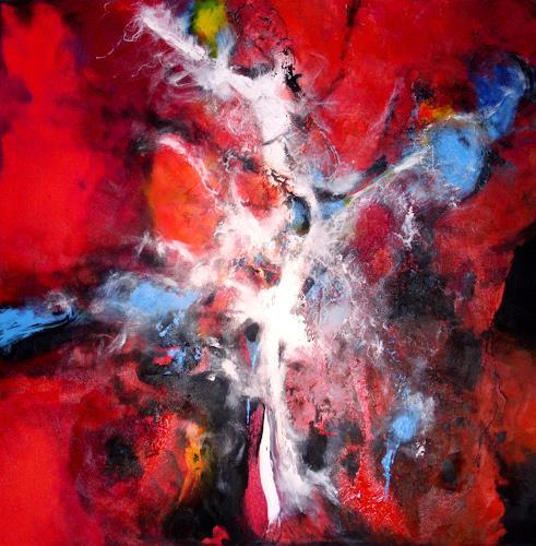 Silke Brandenstein, soul revolution, Symbol, Bewegung, Abstrakter Expressionismus, Expressionismus
