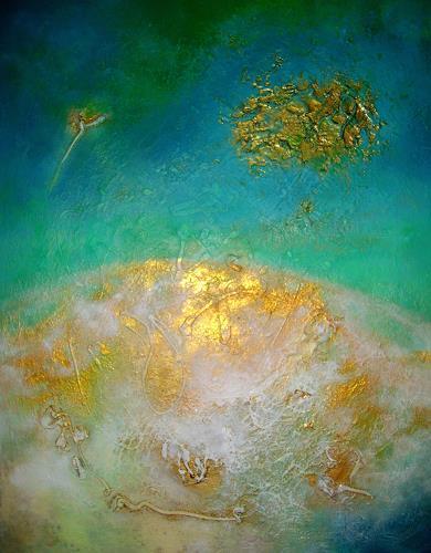 Silke Brandenstein, ...doch für irgendjemand bist Du die ganze Welt., Fantasie, Natur: Erde, Abstrakter Expressionismus, Expressionismus