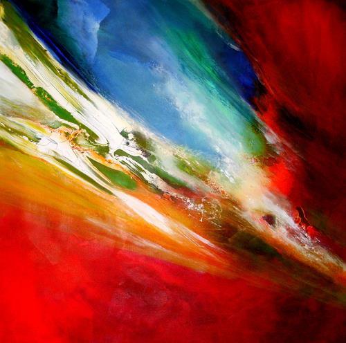 Silke Brandenstein, Apokalypse, Fantasie, Abstrakter Expressionismus