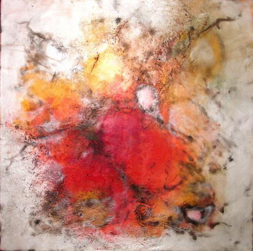 Silke Brandenstein, Herzenswunsch, Abstraktes, Abstrakter Expressionismus, Expressionismus