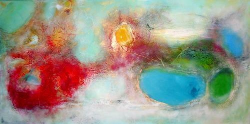 Silke Brandenstein, Geschenke des Himmels, Abstraktes, Glauben, Abstrakte Kunst, Expressionismus