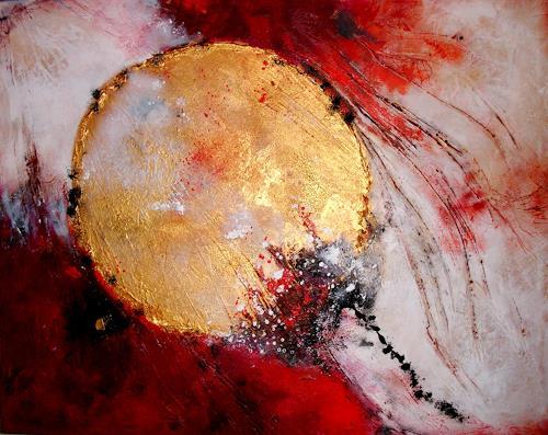 Silke Brandenstein, Mut Freiheit und Licht, Glauben, Symbol, Abstrakte Kunst
