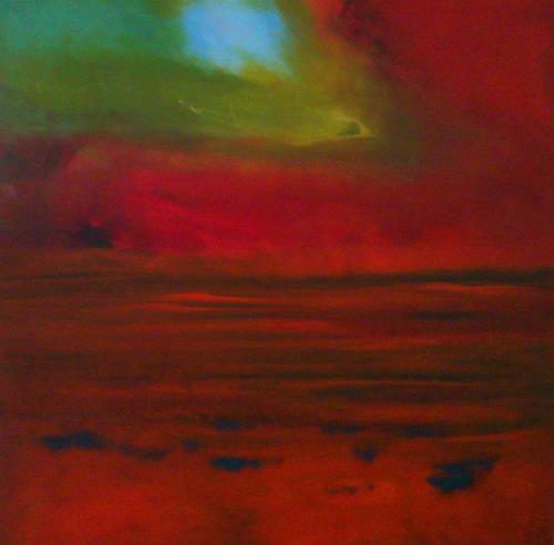 Silke Brandenstein, Am Anfang war das Licht, Glauben, Abstraktes, Abstrakter Expressionismus, Expressionismus