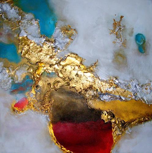 Silke Brandenstein, Bitte hör nicht auf zu träumen...I, Glauben, Fantasie, Abstrakter Expressionismus, Expressionismus