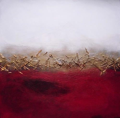 Silke Brandenstein, Weg der Hoffnung, Glauben, Symbol, Symbolismus, Expressionismus