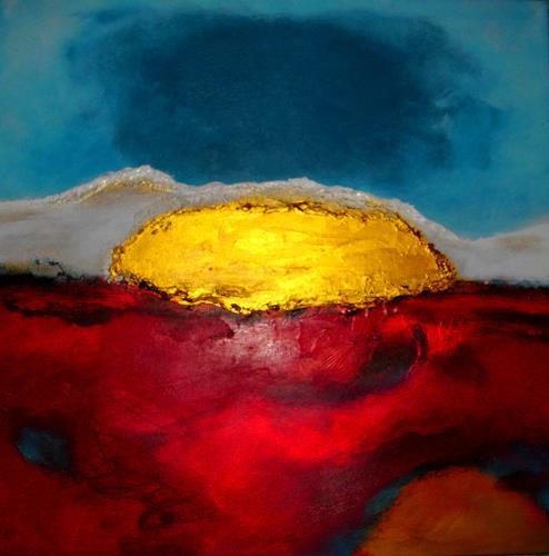 Silke Brandenstein, Bitte hör nicht auf zu träumen...III, Glauben, Fantasie, Abstrakter Expressionismus