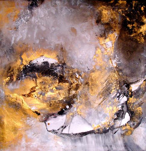 Silke Brandenstein, Mit den Augen fühlen..., Abstraktes, Abstrakter Expressionismus