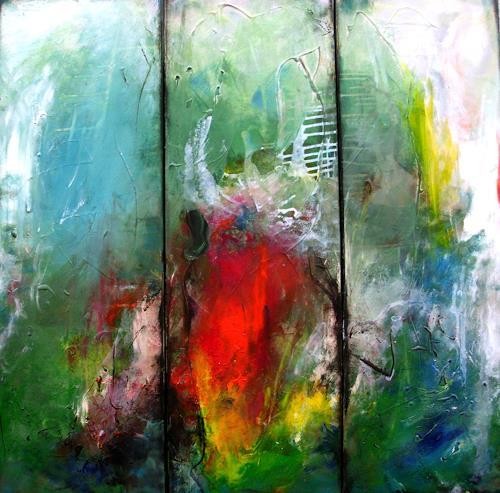 Silke Brandenstein, Viva la vida, Fantasie, Abstrakter Expressionismus