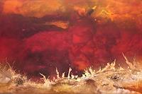 Silke-Brandenstein-Natur-Feuer-Natur-Erde-Moderne-Expressionismus-Abstrakter-Expressionismus