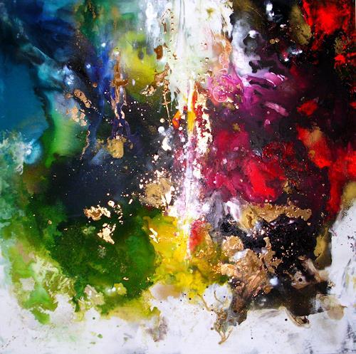 Silke Brandenstein, Geschenkte Zeit, Glauben, Gefühle: Liebe, Neue Wilde, Abstrakter Expressionismus