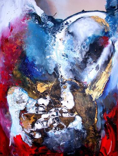Silke Brandenstein, Weil du mein Atem bist, Fantasie, Glauben, Abstrakter Expressionismus