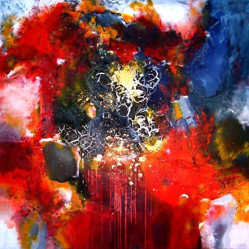 Silke Brandenstein, La Passion, Gefühle: Liebe, Abstrakter Expressionismus