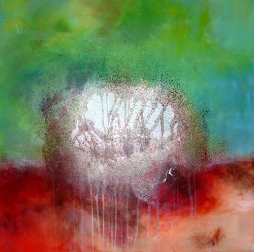 Silke Brandenstein, Keim des Lebens, Symbol, Abstrakter Expressionismus, Expressionismus