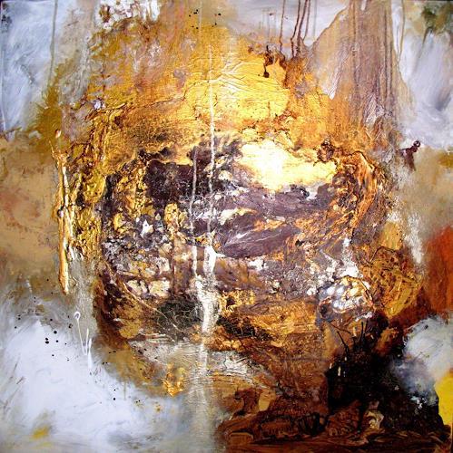 Silke Brandenstein, Du aber trägst das alles... Version II, Pflanzen: Bäume, Natur: Erde, Gegenwartskunst