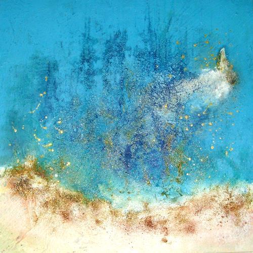 Silke Brandenstein, Glückssterne, Gefühle: Freude, Märchen, Abstrakter Expressionismus