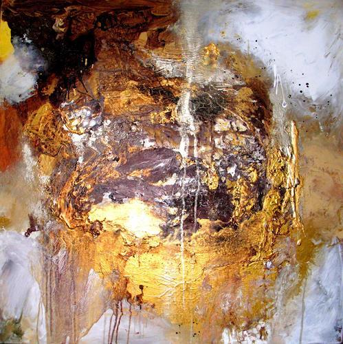 Silke Brandenstein, Du aber trägst das alles, Poesie, Glauben, Abstrakter Expressionismus