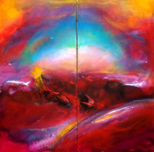 Silke Brandenstein, GENESIS 2, Glauben, Natur: Erde, Abstrakter Expressionismus