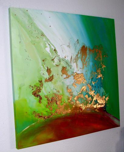Silke Brandenstein, FreeSoul, Symbol, Glauben, Abstrakter Expressionismus