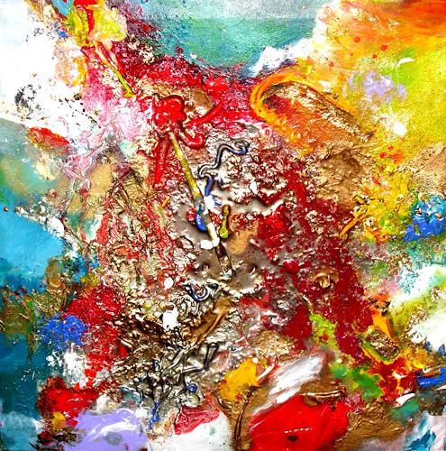 Silke Brandenstein, Etwas ins Leben bringen, Gefühle: Liebe, Glauben, Abstrakte Kunst, Abstrakter Expressionismus