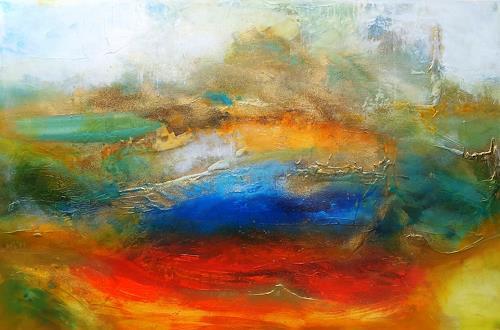 Silke Brandenstein, Liebe ist, Gefühle: Liebe, Natur: Erde, Abstrakter Expressionismus