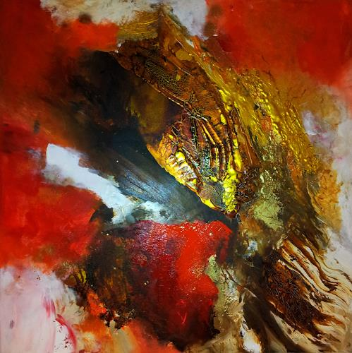 Silke Brandenstein, Herzensweg, Symbol, Diverse Gefühle, Abstrakter Expressionismus