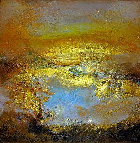 Silke Brandenstein, Kleine Sonne, Symbol, Glauben, Abstrakte Kunst