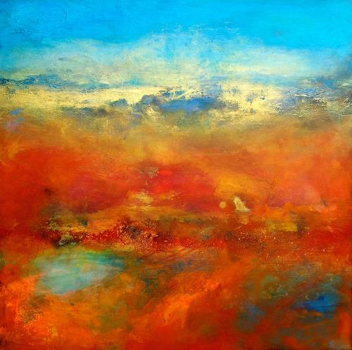 Silke Brandenstein, Nicht von dieser Welt, Glauben, Abstrakte Kunst, Abstrakter Expressionismus
