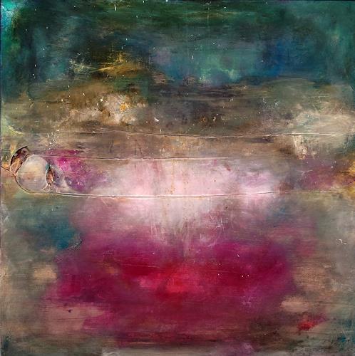Silke Brandenstein, Zauberperle, Poesie, Symbol, Abstrakte Kunst, Expressionismus