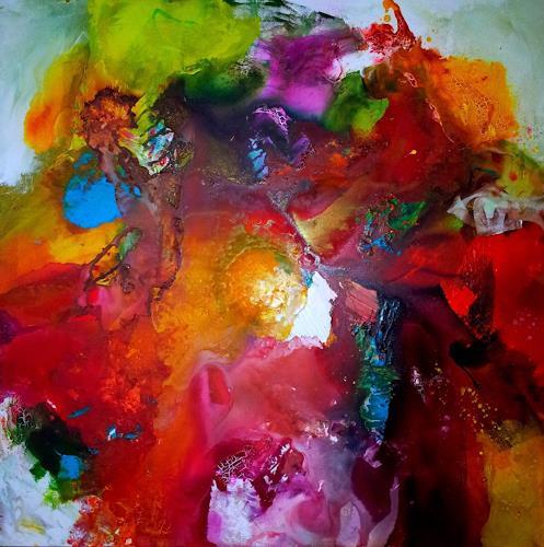 Silke Brandenstein, Wenn Du lebst, Fantasie, Gefühle: Liebe, Neue Wilde, Abstrakter Expressionismus