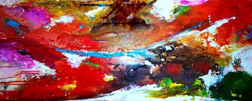 Silke Brandenstein, Journey, Bewegung, Abstrakte Kunst, Abstrakter Expressionismus