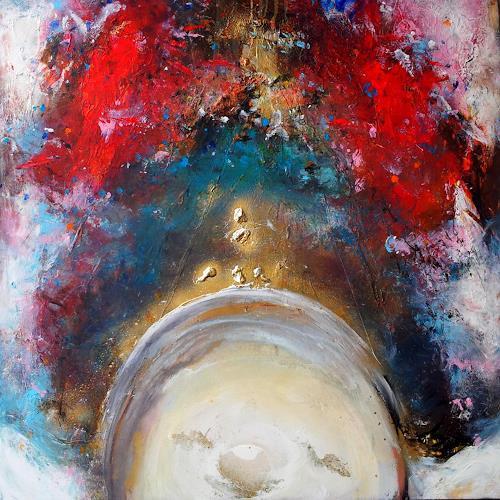 Silke Brandenstein, Der sechste Sinn, Glauben, Abstrakter Expressionismus