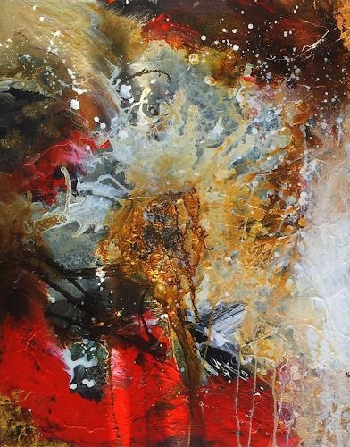 Silke Brandenstein, Weil Du meine Seele berührst... Teil I, Glauben, Gefühle: Liebe, Abstrakte Kunst, Abstrakter Expressionismus